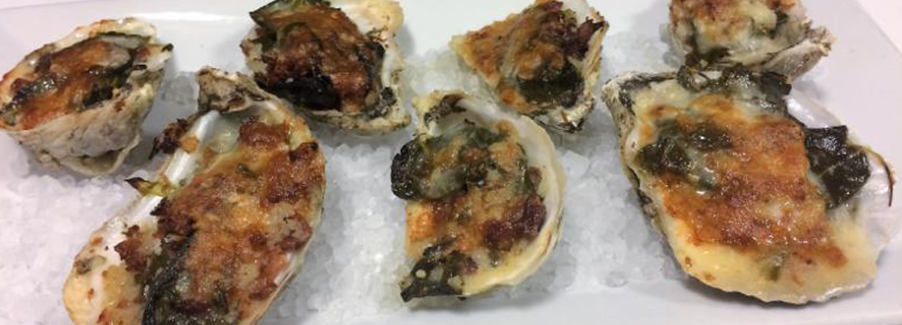 NC Baked Oysters